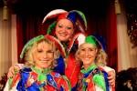 Die lustigen Hofnarren mit ihrem beliebten Kostüm.