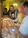Bäckermeister Axel Langner spendiert tolle Karnevalistische Köstlichkeiten