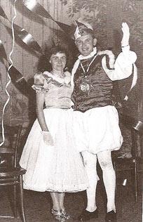 1959 Prinzenpaar Egon Menzel + Brigitte Lehmann