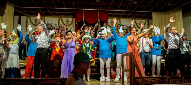 Bunt, bunter, der KCS feiert den Karneval im Neißetal